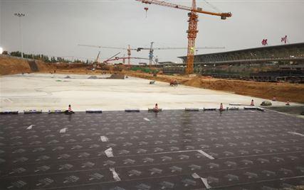 银川国际航空港综合交通枢纽项目