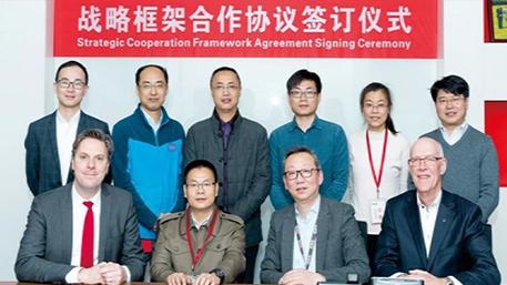 西牛皮防水与科德宝高性能材料集团禄博纳公司合作共赢