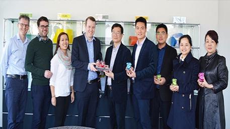 与瑞士PAVAG公司成为战略合作伙伴