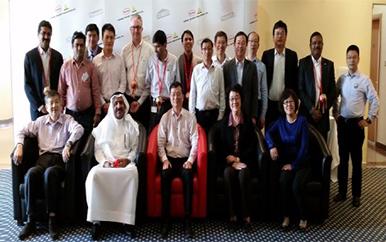 应德国汉高迪拜公司邀请率专家顾问团率专家顾问团赴迪拜技术交流