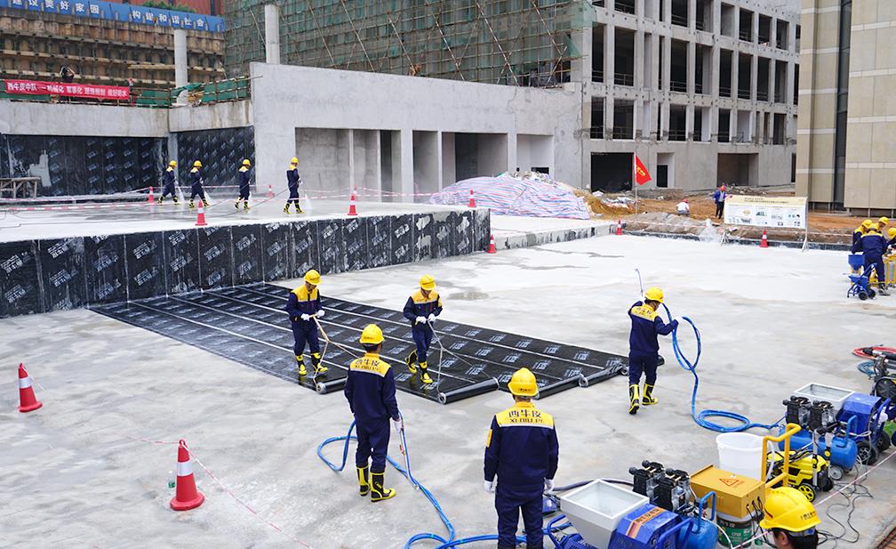 械化施工更便捷   降低施工强度   提高施工效率